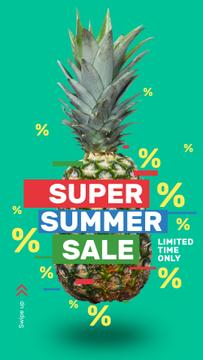 Summer Sale Raw Pineapple Fruit