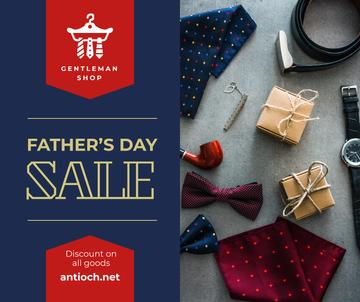 Stylish male accessories for Father's Day