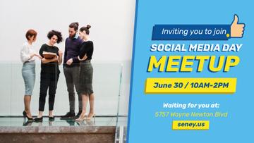 Social Media Day Meetup Colleagues Team