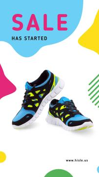 Sports Sale pair of Athletic Shoes