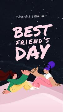 Best Friends Day Funny Girls