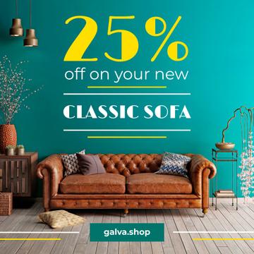 Furniture Sale Modern Room Design with Sofa