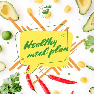 Healthy Food Concept with Fresh Vegetables