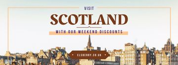 Tour Invitation with Scotland Famous Sights