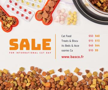 Pet Food and Supplements Cat Day Sale
