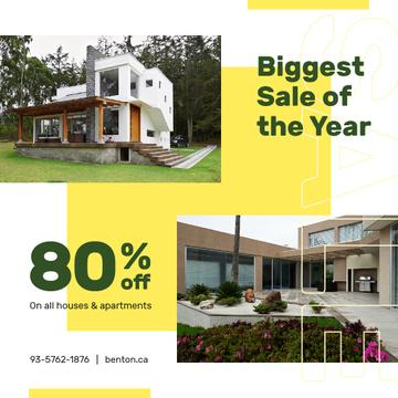 Real Estate Offer Residential Modern House