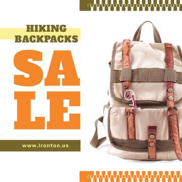 Vintage Hiking Backpack Sale