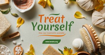 Skin Treatment Offer Natural Oil and Petals