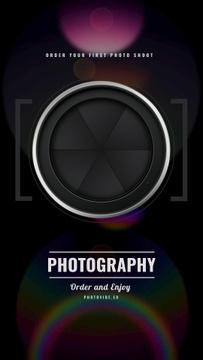 Photography Offer closing Shutter view