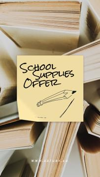 Back to School Sale Paper Books
