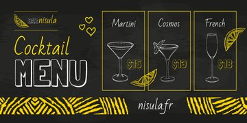 Cocktail Menu Offer