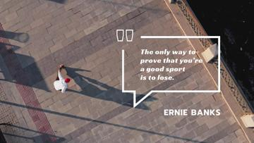 Sporting Quote Man Training in City