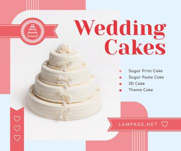 Wedding offer big White Cake