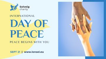 International Day of Peace People Holding Hands