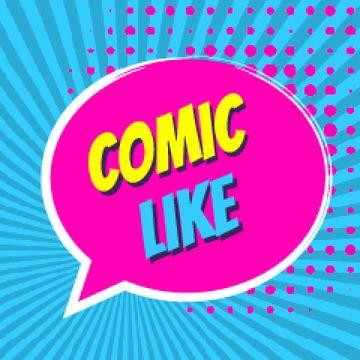 Comic Like Speech Bubble
