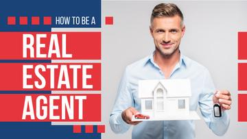 Real Estate Tips Agents Holding House Model