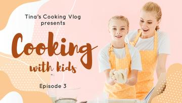Cooking with Kids Blog Mother and Daughter Baking