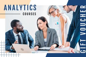 Business Courses with Successful Team at a Meeting
