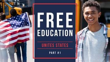 Free Education Guide Smiling Students
