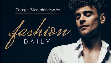 Fashion Blog Handsome Man in White Shirt