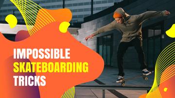Young Man Riding Skateboard