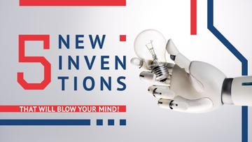 Latest Inventions Robot Hand Holding Bulb