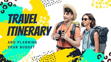 Travel Tips Couple with Backpacks