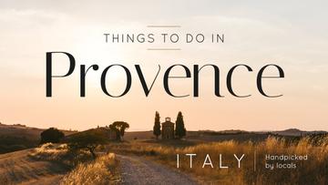 Provence Travel Inspiration Scenic Countryside Landscape