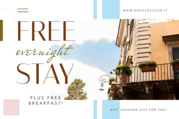 Hotel Offer with Old Building Facade