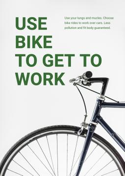 Ecological Bike to Work Concept