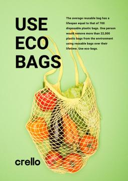 Fresh Vegetables in Net Bag