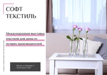 Home Decor Ad with Vases and Furniture