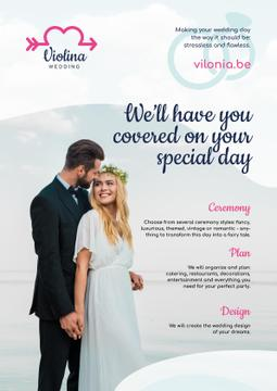Wedding Planning Services with Happy Newlyweds