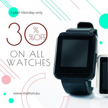 Cyber Monday Sale Smart Watch Device