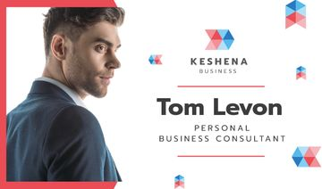 Business Consultant Contacts with Confident Businessman