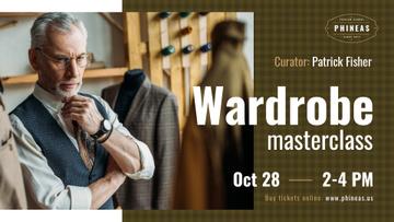 Tailoring Masterclass Man looking at bespoke Suit