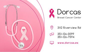 Breast Cancer Center Pink Ribbon
