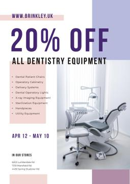 Dentistry Equipment Sale with Dentist Office View