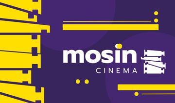 Cinema Club Ad with Film Icon