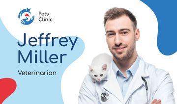 Veterinarian Contacts Man with Cat