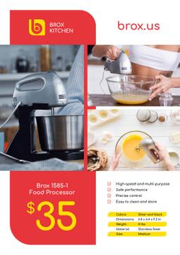 Appliances Offer with Kitchen Machine
