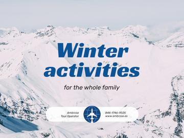 Winter Activities Tour Snowy Mountains