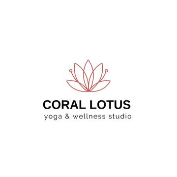 Spa Center Ad with Lotus Flower