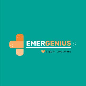 Emergency Treatment Band Aid Cross