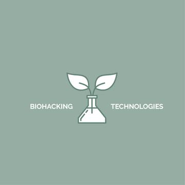 Bio Technologies with Plant in Flask