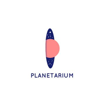 Planetarium Promotion with Planet and Stars in Space