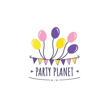 Party Organization Services with Colorful Balloons