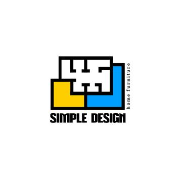 Design Studio with Geometric Lines Icon