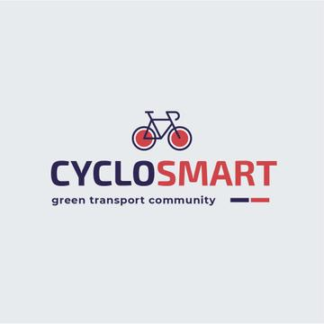 Green Transport Bicycle Icon