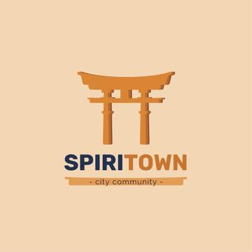 City Community with Torii Icon